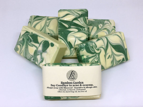 Bamboo Garden - Handmade natural soap